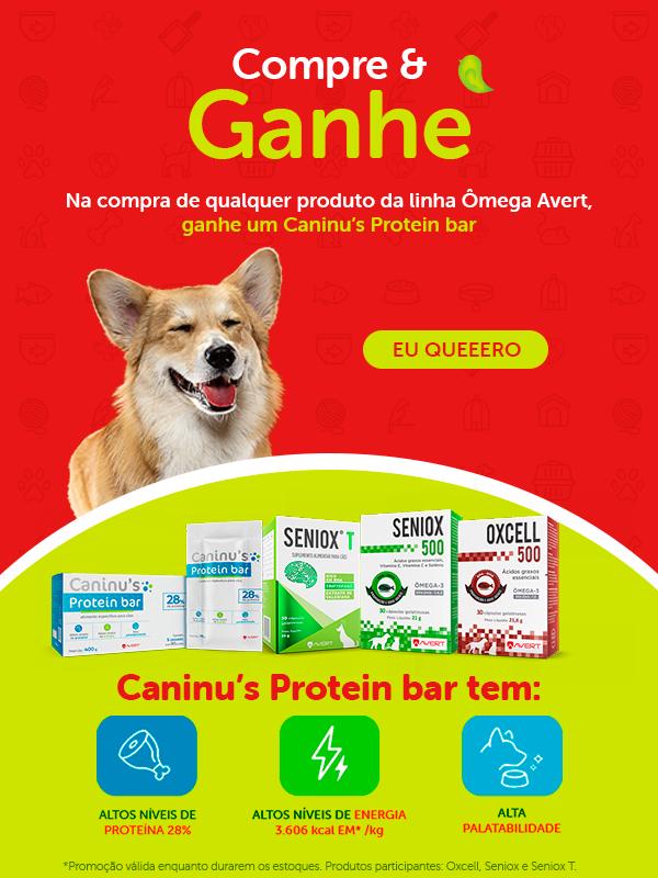 Ganhe um Caninu's Protein bar