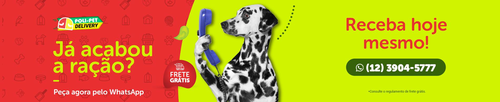 Entregas Delivery de ração para cachorro, gato e outros pets