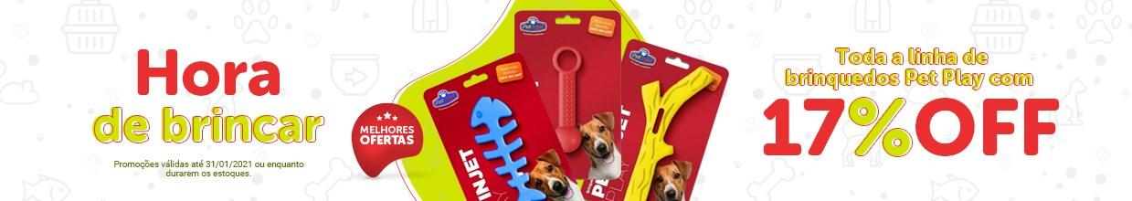 Promoção brinquedo para cachorro Pet Play