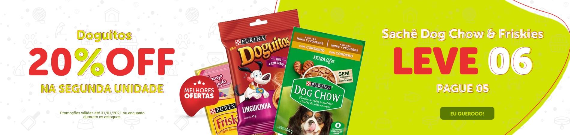 Promoção Doguitos, Dog Chow e Friskies