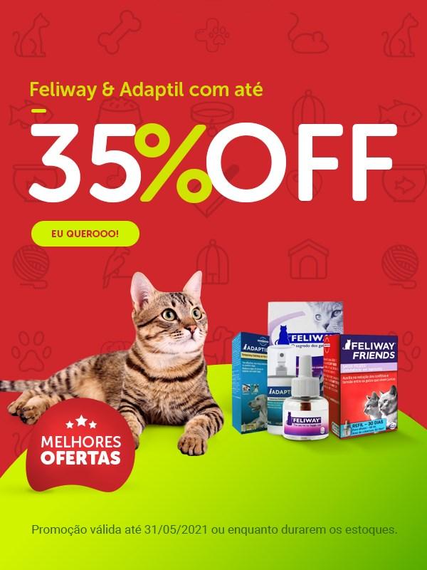 Promoção Feliway e Adaptil