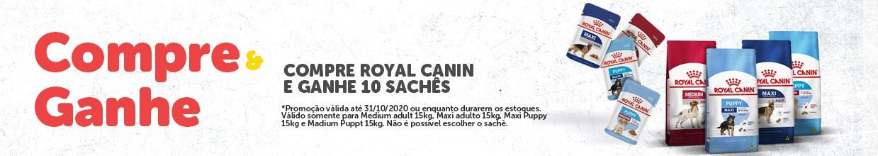 Promoção Royal Canin para cachorrro ganha sachê