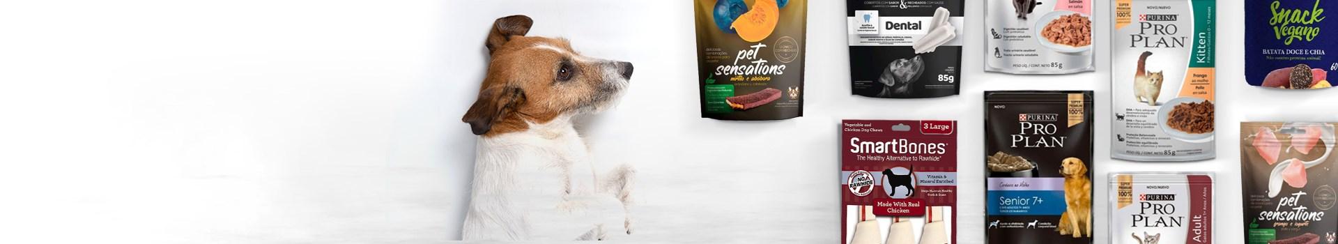Produtos para cachorro