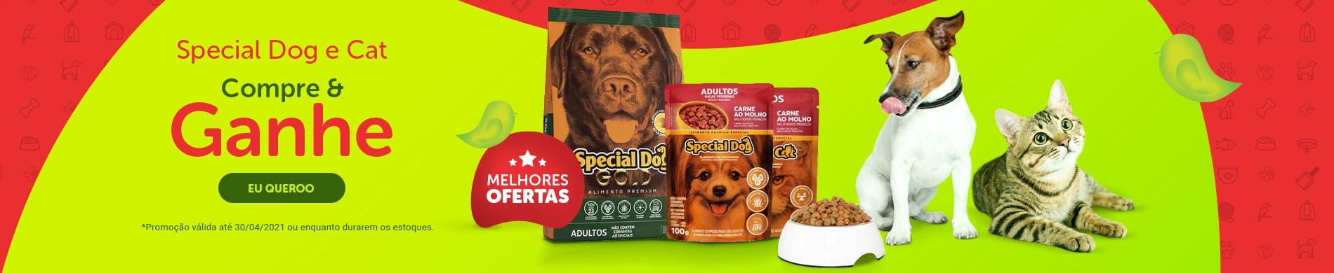 Promoção ração Special Dog para cachorro | Compre e ganhe sachê