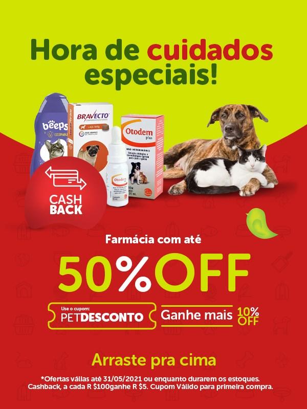 Promoção medicmentos para cachorro e gato