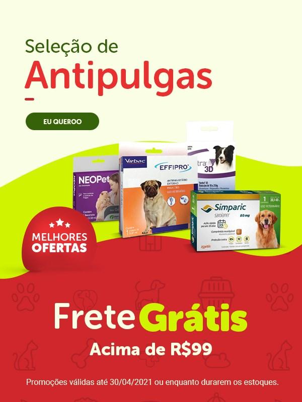 Promoção de antipulgas para cachorro e gato
