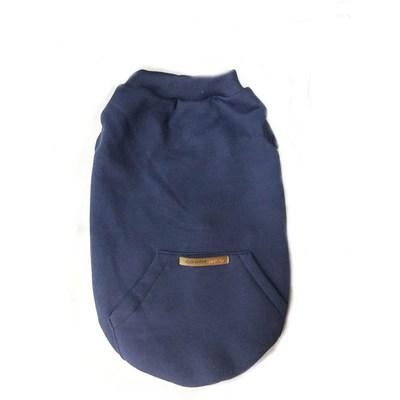 Agasalho Pocket para Cães e Gatos Azul G