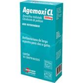Agemoxi CL para Cães e Gatos com 10 Comprimidos 250mg