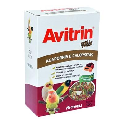 Alimento Avitrin Mix para Calopsita e Agapornis 300gr