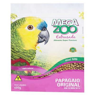 Alimento Extrusado para Papagaios 600gr 600gr