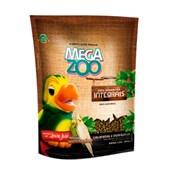 Alimento Megazoo Extrusado Integral para Calopsitas e Periquitos 350gr