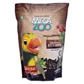Alimento Megazoo Extrusado Integral para Papagaios 600gr