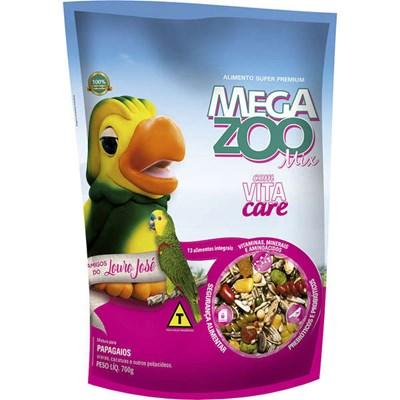 Alimento Megazoo Extrusado para Papagaios 700gr