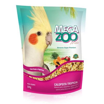 Alimento Megazoo Mix para Calopsita Tropical 500gr