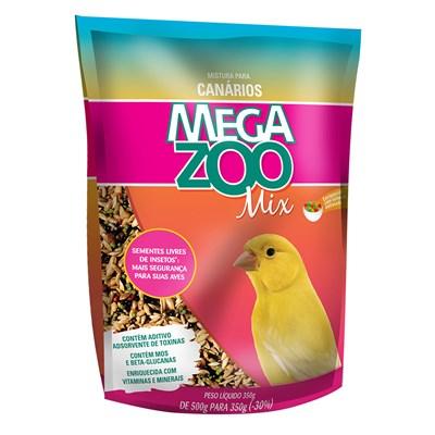 Alimento Megazoo Mix para Canários 350gr