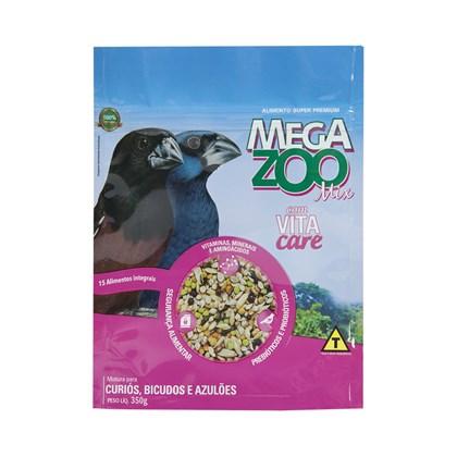 Alimento Megazoo Mix para Curió, Bicudo e Azulão 350gr