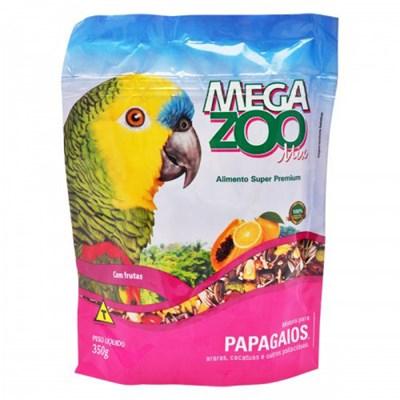 Alimento Megazoo Mix para Papagaios 350gr