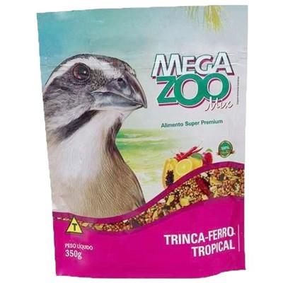 Alimento Megazoo Mix Trinca Ferro Tropical 350gr
