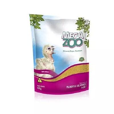 Alimento Megazoo Papa para Filhotes de Aves 500gr