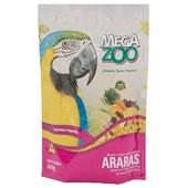 Alimento Megazoo para Araras com Frutas e Legumes 600gr