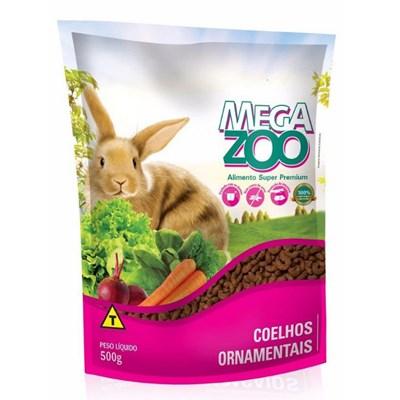 Alimento Megazoo para Coelho Ornamental Filhote 500gr