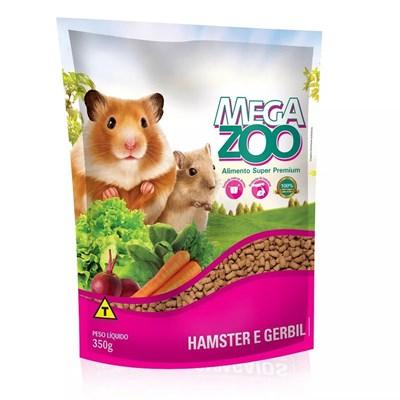 Alimento Megazoo para Hamster e Gerbil 350gr
