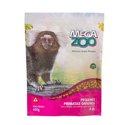 Alimento Megazoo para Pequenos Primatas Onívoros 600gr