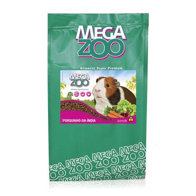Alimento Megazoo para Porquinho da Índia 3kg