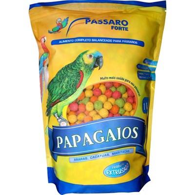 Alimento Pássaro Forte Extrusado para Papagaios 1kg