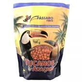Alimento Pássaro Forte Extrusado para Tucanos e Araçaris 700g