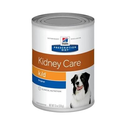 Alimento Úmido Hills Prescription Diet K/D para Cães Adultos Cuidado Renal 370gr