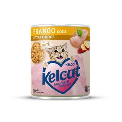 Alimento Úmido Kelcat Frango e Batata Doce 280gr
