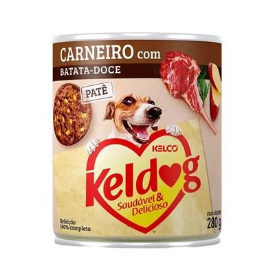 Alimento Úmido Keldog para Cães Carneiro e Batata Doce 280gr