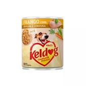 Alimento Úmido Keldog para Cães Frango, Ervilha e Cenoura 280gr