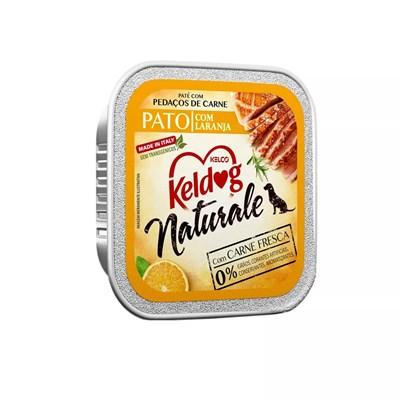 Alimento Úmido Keldog para Cães Naturale Pato com Laranja 100gr