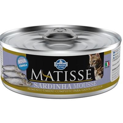 Alimento Úmido Matisse Mousse Sardinha para Gatos Adultos 85gr
