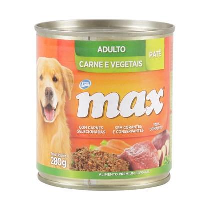 Alimento Úmido Max para Cães Adultos Carne e Vegetais 280gr