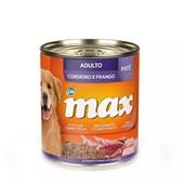 Alimento Úmido Max para Cães Adultos Cordeiro e Frango 280gr