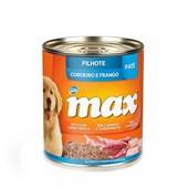 Alimento Úmido Max para Cães Filhotes Cordeiro e Frango