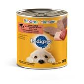 Alimento Úmido Pedigree Lata Patê para Cães Filhotes Carne e Frango 280gr