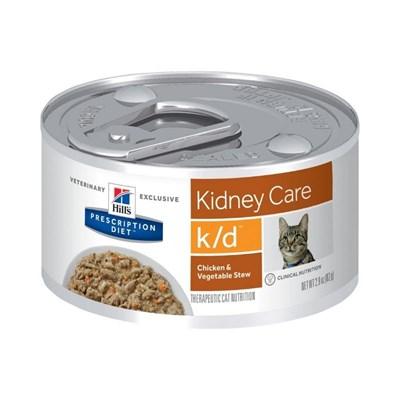 Alimento Úmido Prescription Diet K/D para Gatos 82gr