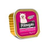 Alimento Úmido Primogato Filhotes Peru e Frango 150gr