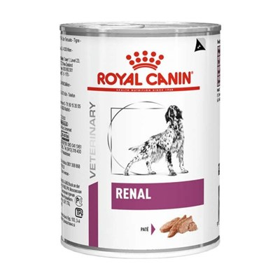 Alimento Úmido Royal Canin Lata Veterinary Diet Wet para Cães Renal 410g