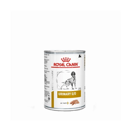 Alimento Úmido Royal Canin Lata Veterinary Diet Wet para Cães Urinary 410g