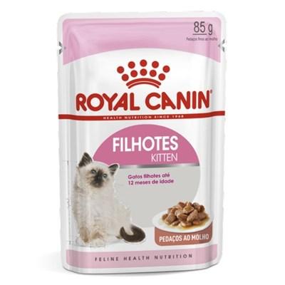 Produto Alimento Úmido Royal Canin Sachê para Gatos Filhotes Instinctive 85gr