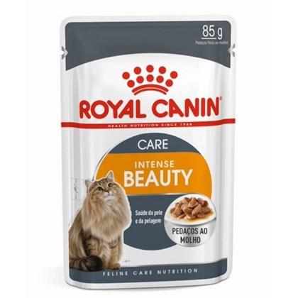 Alimento Úmido Royal Canin Sachê para Gatos Intense Beauty 85gr