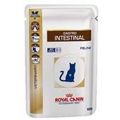 Alimento Úmido Royal Canin Veterinary Diet Wet Sachê para Gatos Adultos Gastro Intestinal 100gr