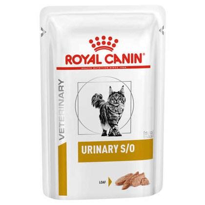 Alimento Úmido Royal Canin Veterinary Diet Wet Sachê para Gatos Adultos Urinary 100gr