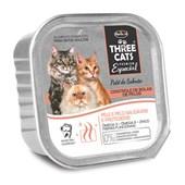 Alimento Úmido  Three Cats Bola De Pêlo Salmão 90gr