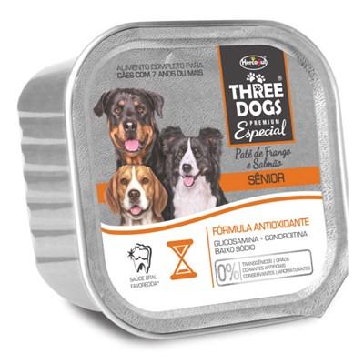 Alimento Úmido Three Dogs Sênior 150gr